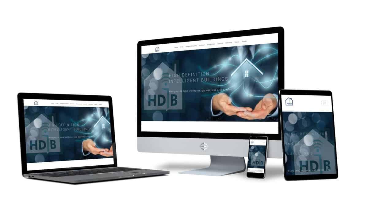 strony internetowe - HDiB | wizualizacja