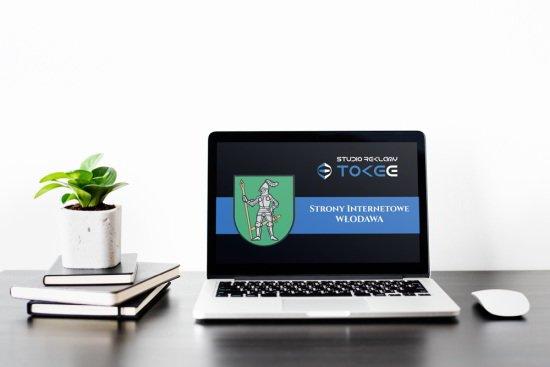 strony internetowe Włodawa - na laptopie