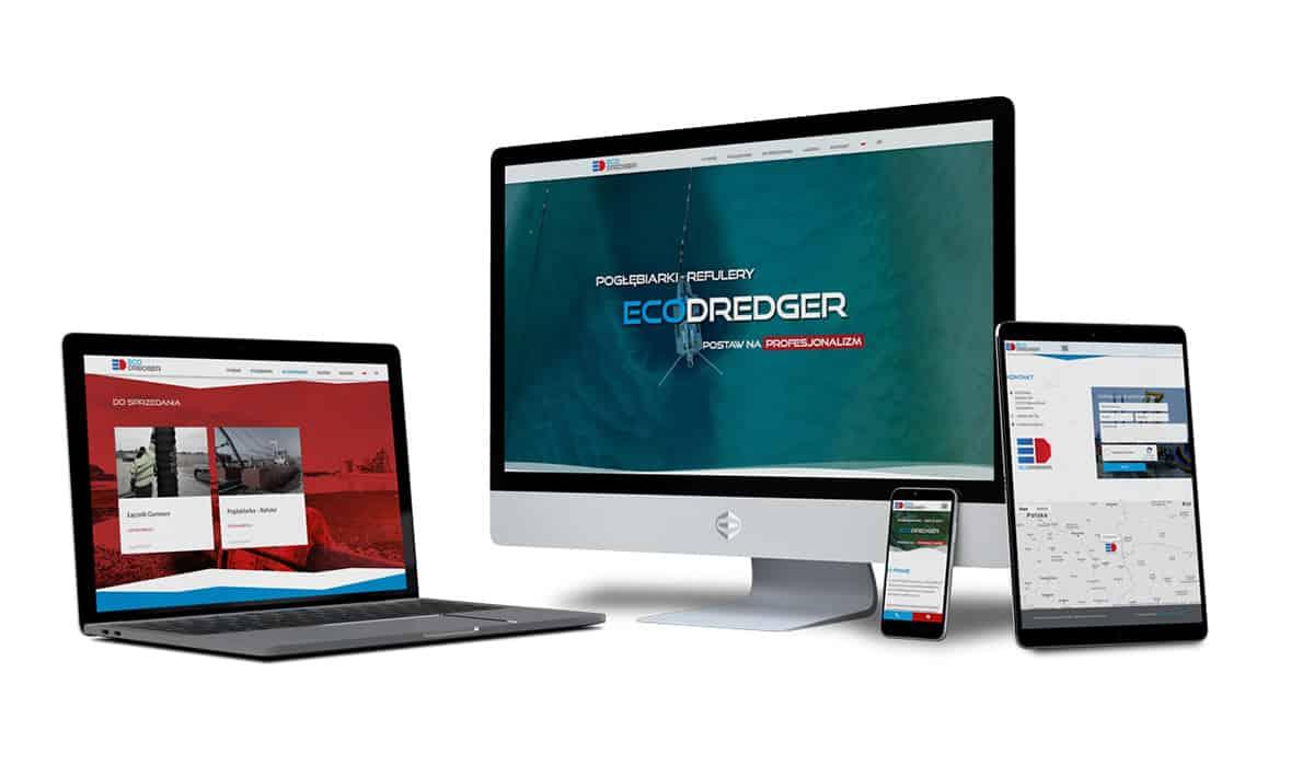 Strona Internetowa Ecodredger.eu
