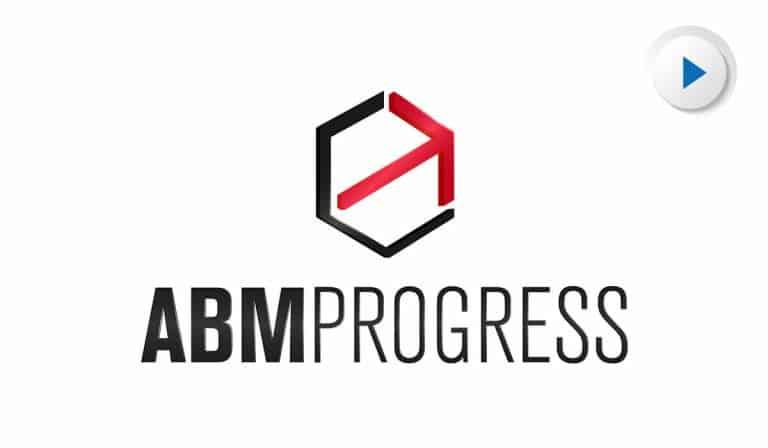 Animowany Logotyp 3D ABM Progress
